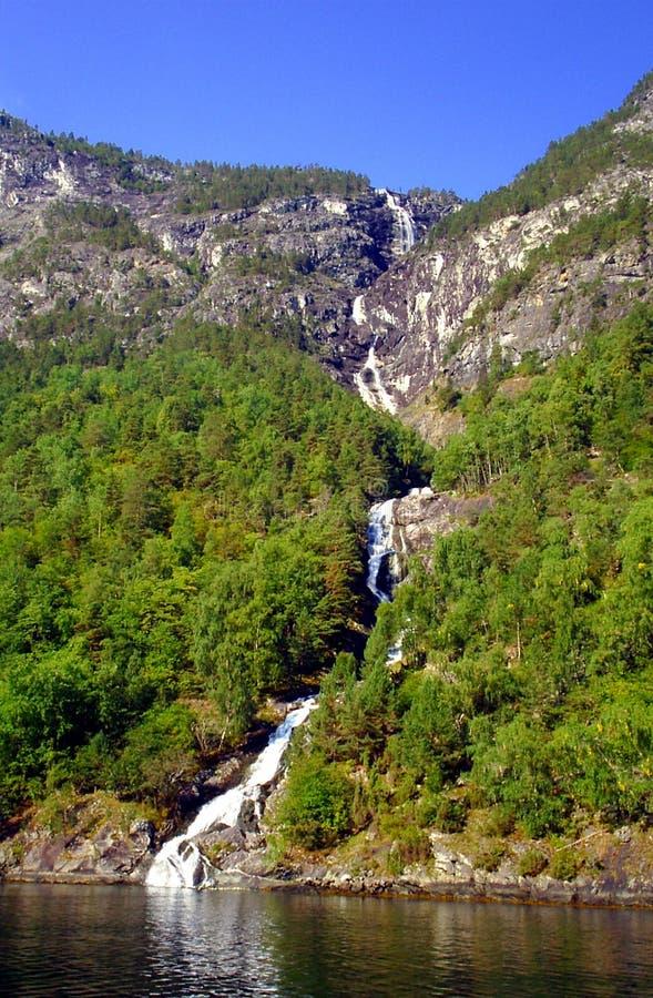 Nordheimsdalenwaterval stock afbeelding