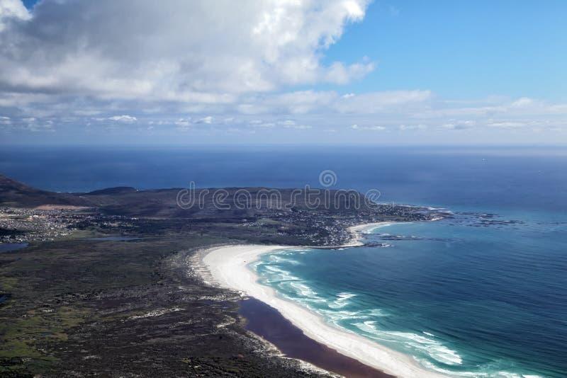 Nordhoek海滩和Kommetjie 库存照片