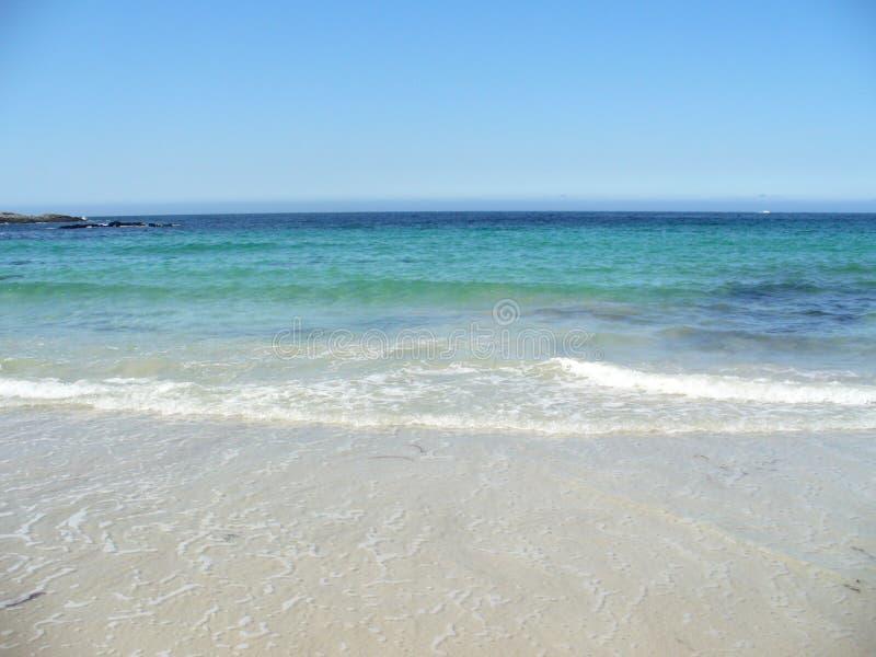 Nordic dream beach royalty free stock photography