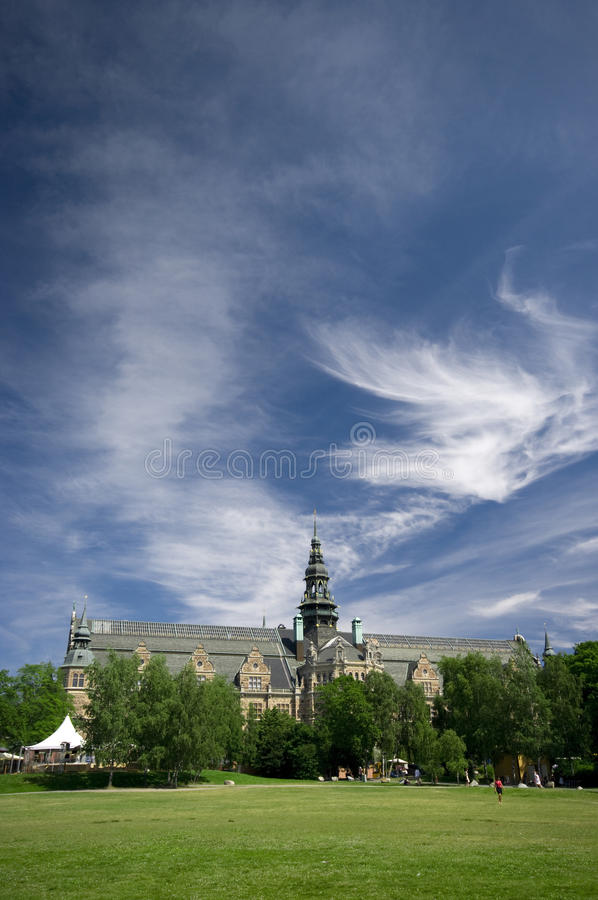 Download Nordic Museum stock photo. Image of greenery, cultural - 10144904