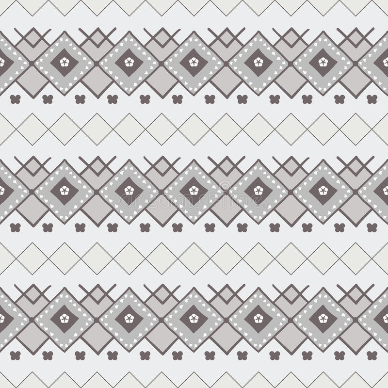 Download Nordic pattern stock vector. Image of gray, interior - 26681352