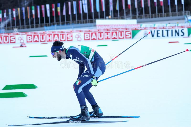 Nordic Ski FIS World Cup - Nordic Combined stock photo