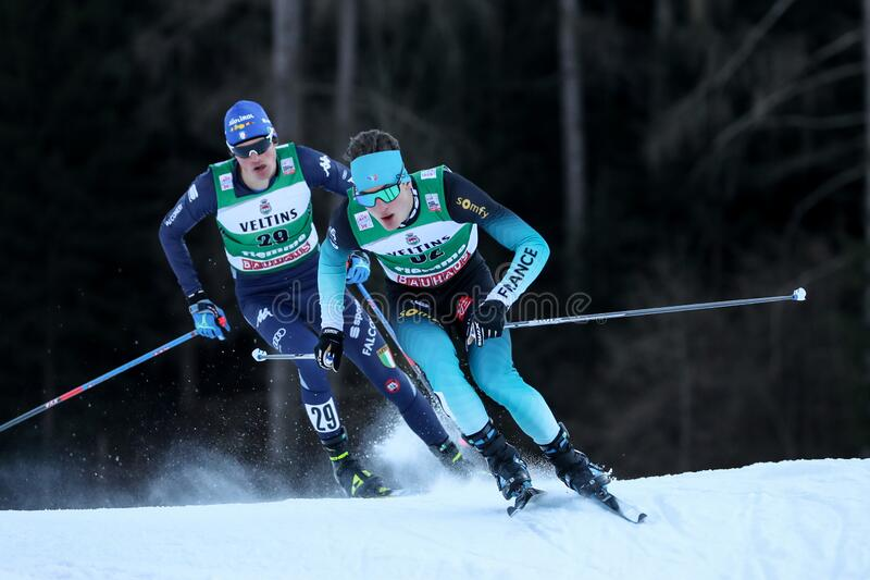 Nordic Ski FIS World Cup - Nordic Combined royalty free stock images