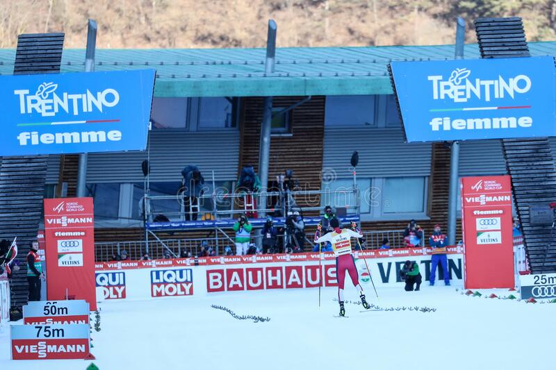 Nordic Ski FIS World Cup - Nordic Combined stock photography
