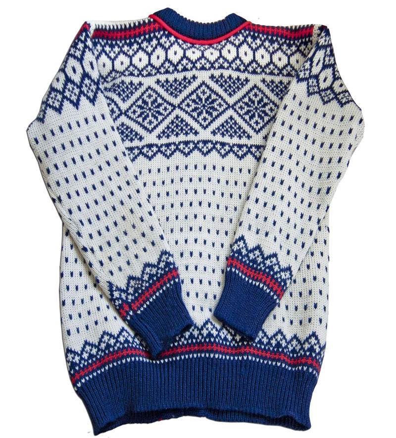 Download Nordic sweater jacquard stock illustration. Image of cuff - 24757274
