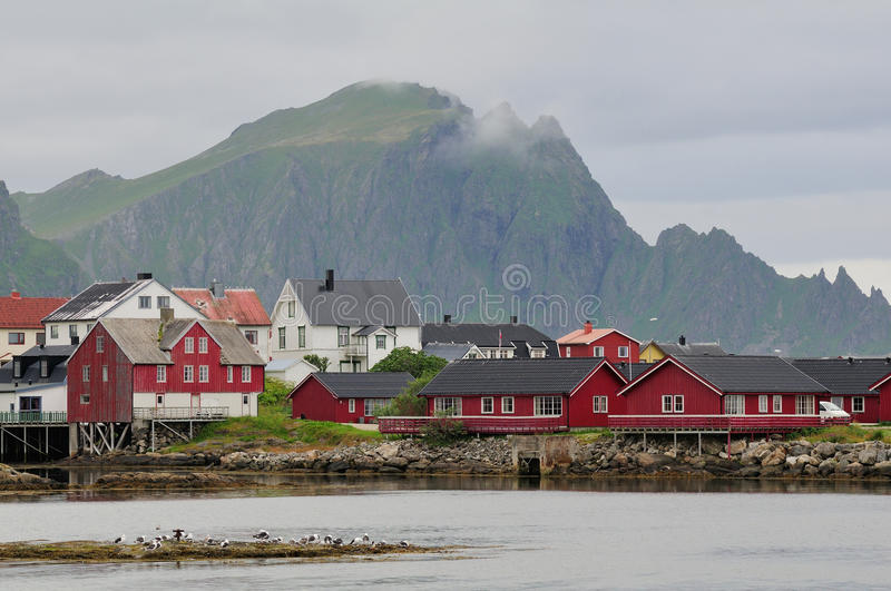 Nordic Town Stock Photography