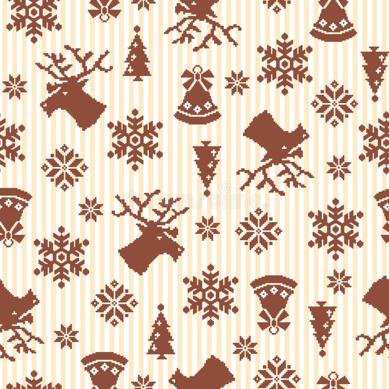 Nordic tradition pattern vector illustration