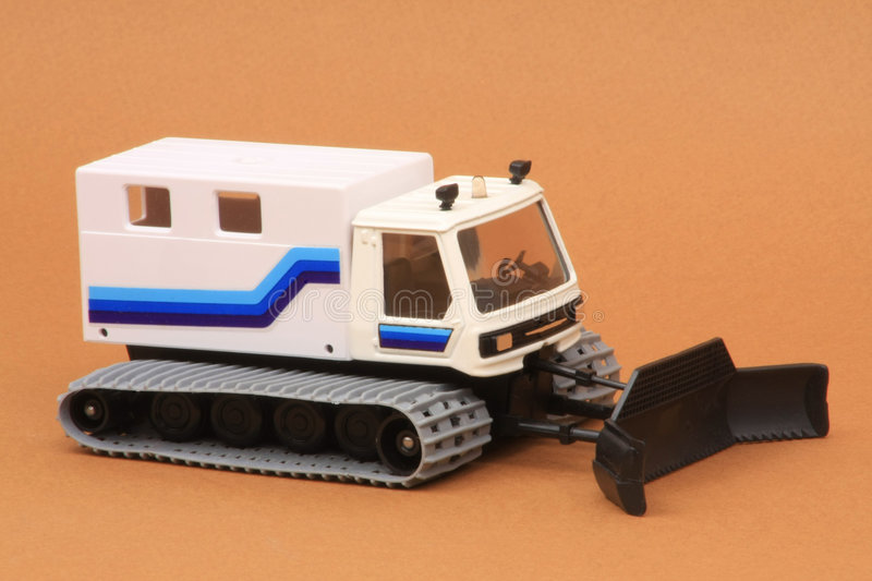 Nordic Trail Groomer. Dameur de Pistes (Nordic Ski Trail Groomer), Solido Toner Gam IV #3601, 1:50 scale diecast, introduced September 1986 stock images