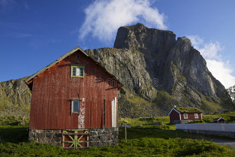 Download Nordic village stock photo. Image of building, nature - 26598840