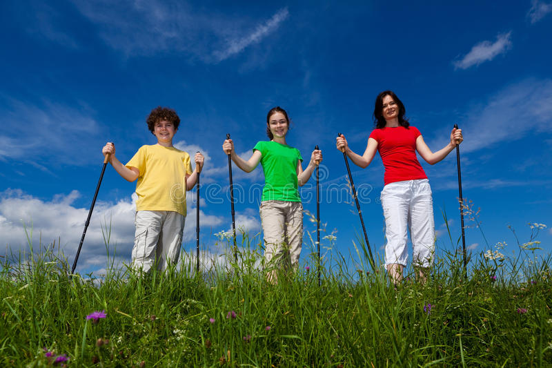 Download Nordic Walkers Stock Images - Image: 20522634