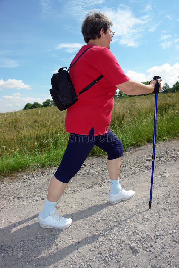 Download Nordic Walking Royalty Free Stock Photography - Image: 10042867