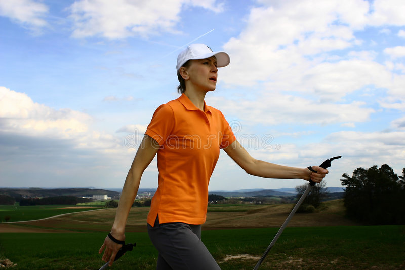 Download Nordic Walking #3 Royalty Free Stock Photography - Image: 2228407