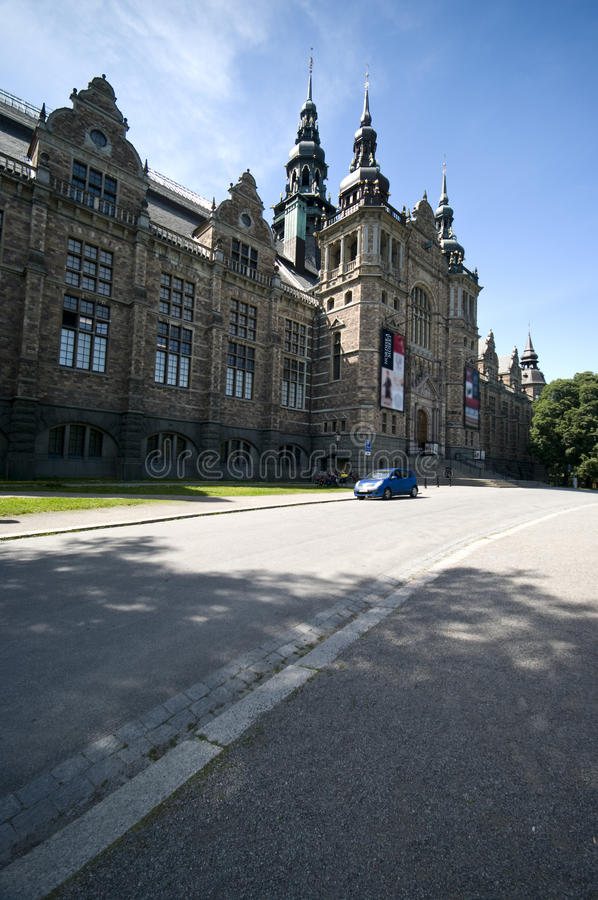 Nordiskt museum fotografering för bildbyråer