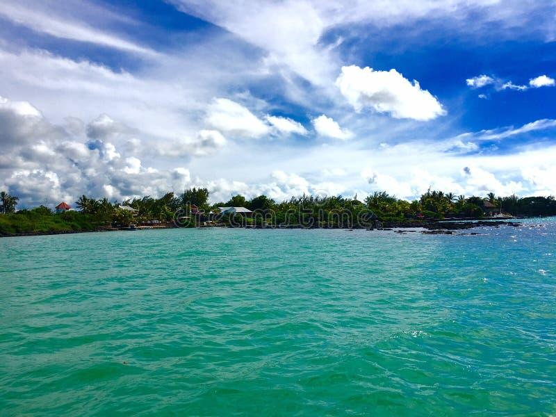 Nordküste von Mauritius lizenzfreie stockbilder
