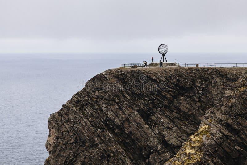 Nordkapp fotografia stock libera da diritti