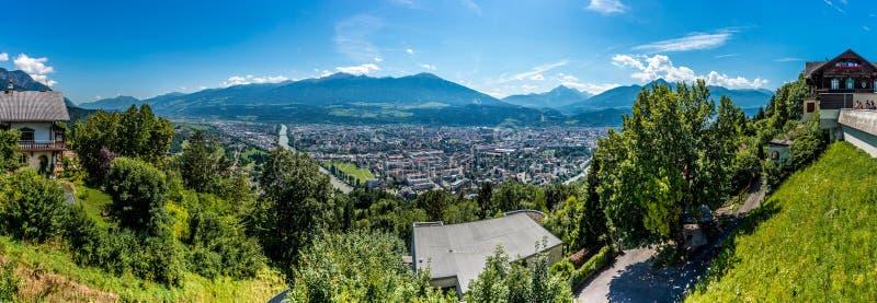 Nordketteberg in Tirol, Innsbruck, Oostenrijk royalty-vrije stock foto