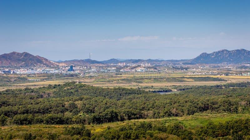 Nordkorea und DMZ stockfoto