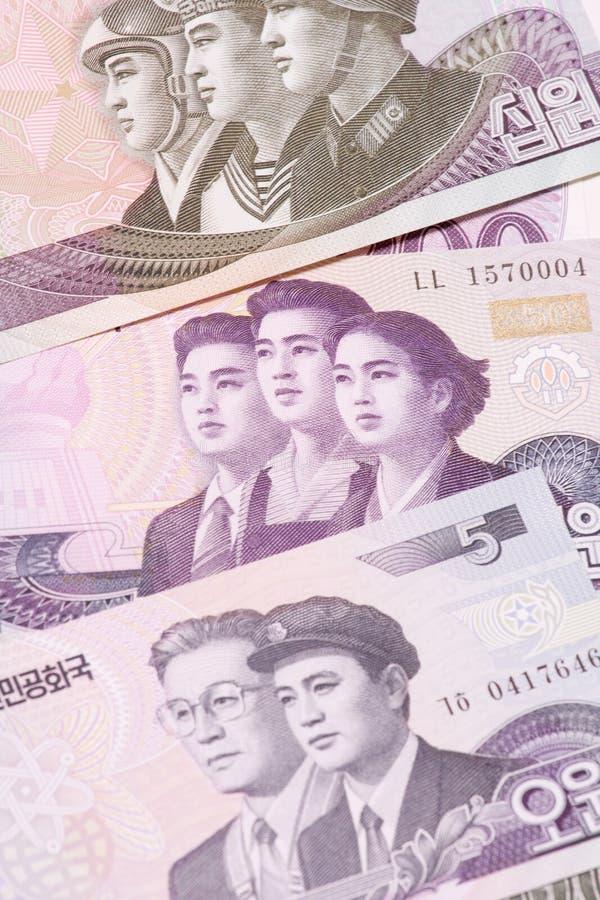 Nordkoreaner gewonnen stockfoto