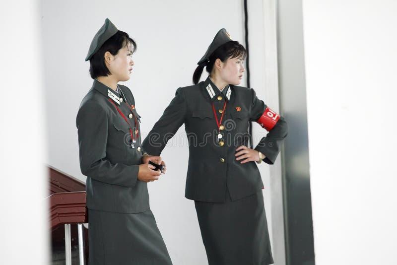 Nordkoreankvinnligsoldater