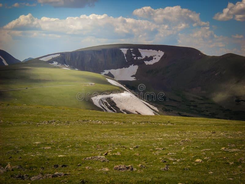 Nordlig Colorado Estes Park Colorado Rocky Mountain nationalpark royaltyfria bilder