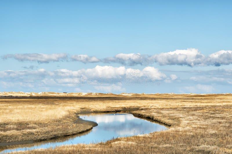 Nordlig Tyskland för landskap arkivfoto