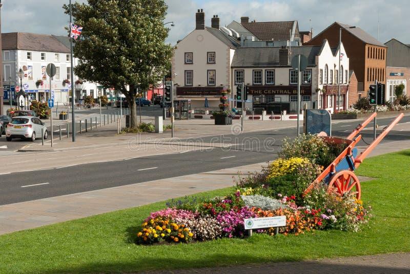 Nordliga Carrickfergus - Irland royaltyfri foto