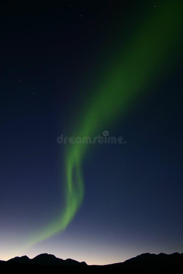nordliga lampor 1 arkivfoton