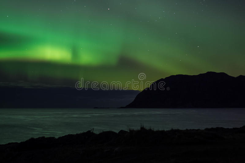 Nordlys images stock