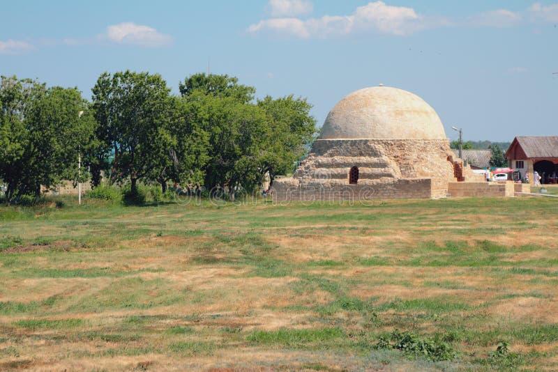 Nordmausoleum ` Kloster-Keller ` Bulgar, Russland lizenzfreie stockfotos