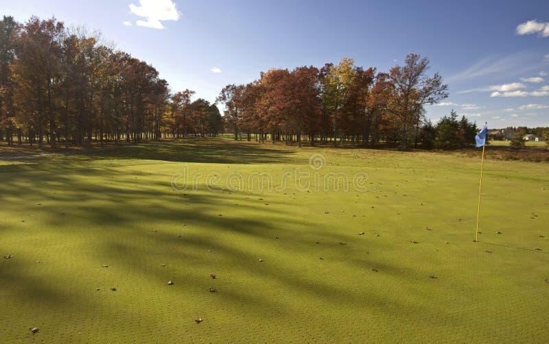 Nordmichigan-Golfplatz stockfotos
