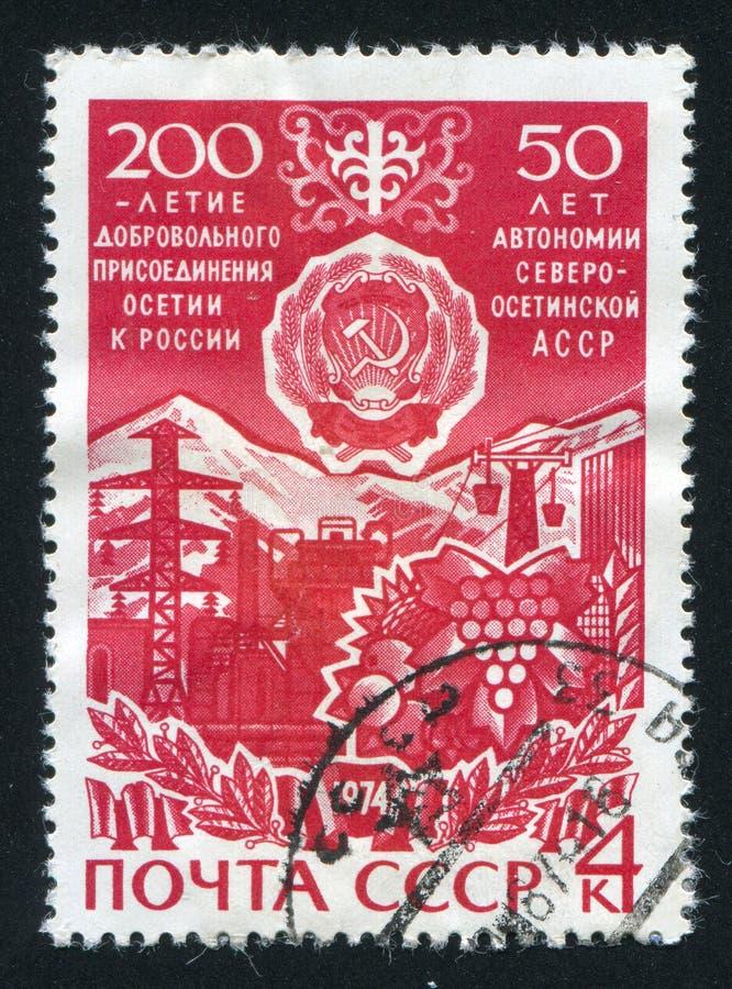 Nordossetisches lizenzfreies stockfoto