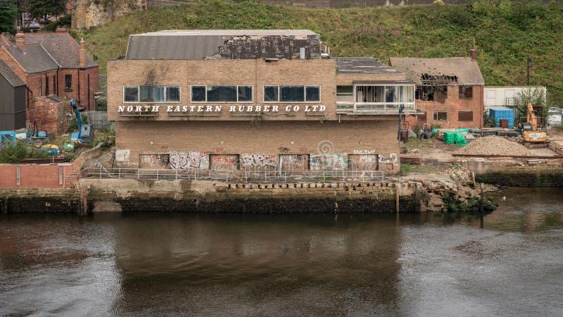 Nordschilder, Tyne und Abnutzung, England, Großbritannien stockfotos