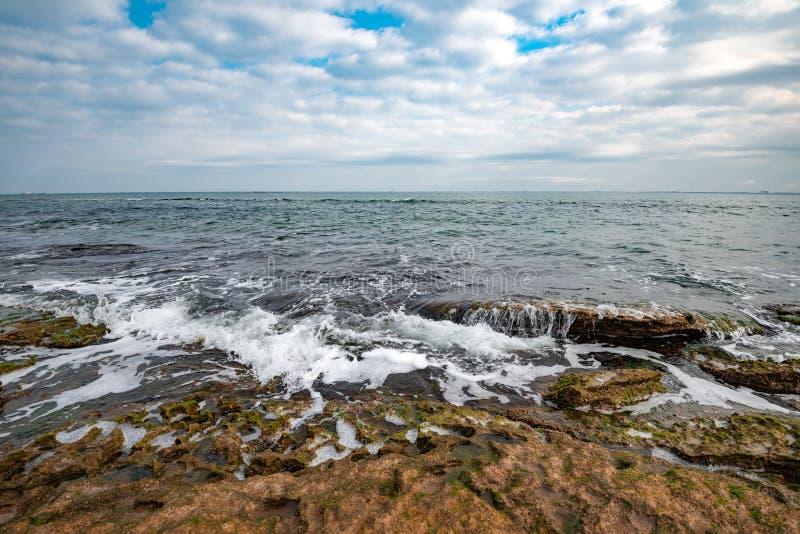 Nordsjönkust arkivfoton
