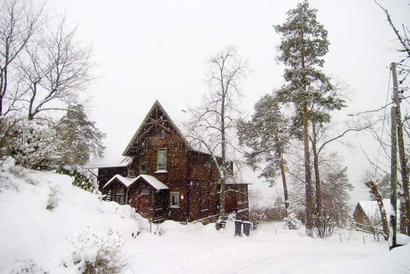 Nordstrand Landhaus stockbild