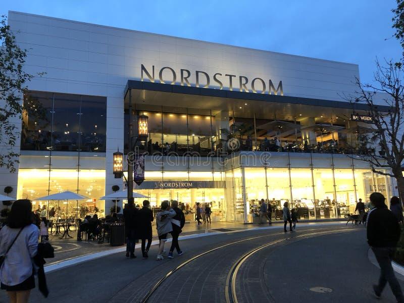 Nordstrom em Los Angeles fotos de stock royalty free