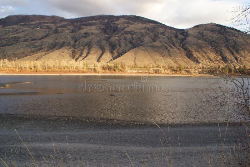 Nordthompson-Fluss stockbild