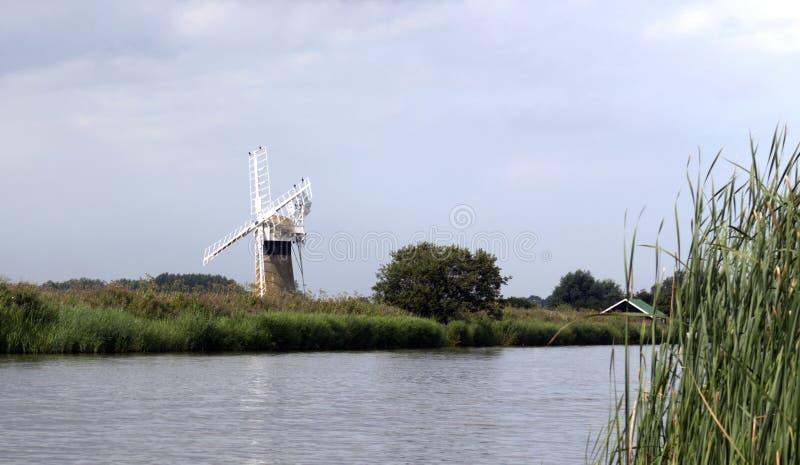 Norfolk Broads uk royalty free stock image