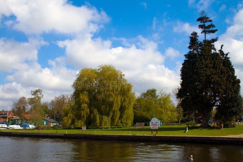 Norfolk Broads foto de archivo libre de regalías