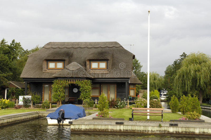 Norfolk Broads stock afbeelding