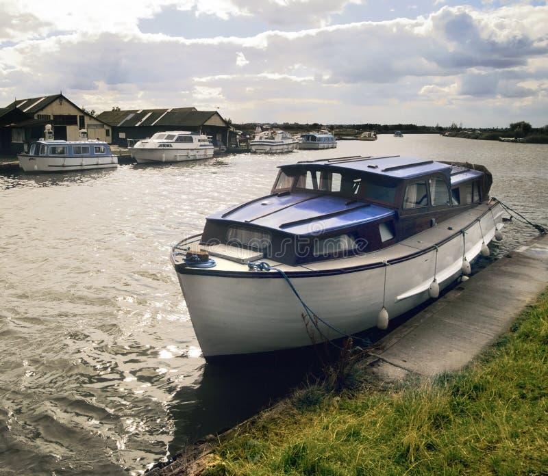 Norfolk broads royalty free stock photography