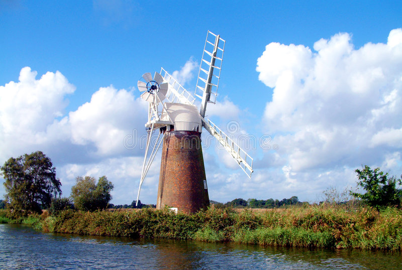 Norfolk Broads royalty-vrije stock foto