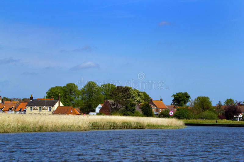 Norfolk broads stock foto's