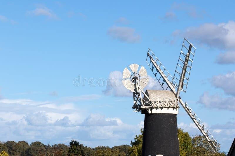 Norfolk broads, England stockbild
