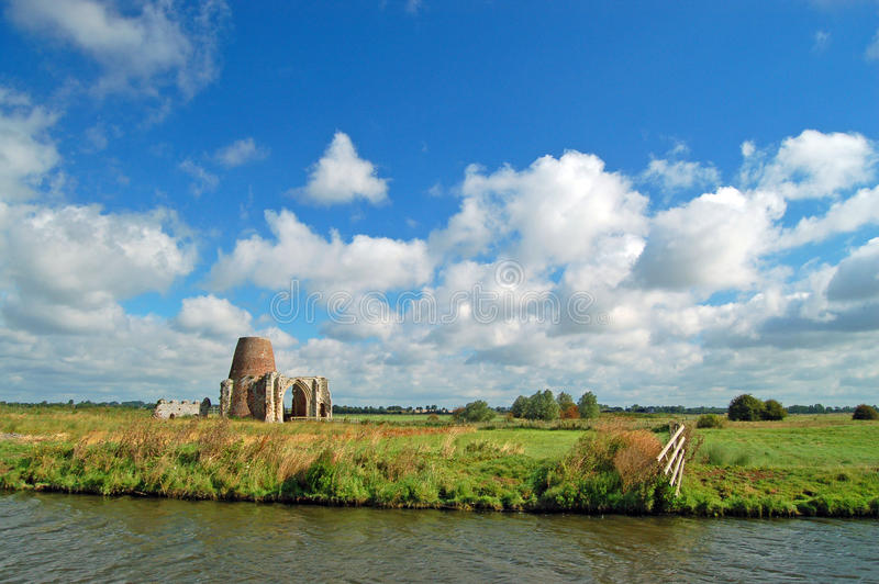 The Norfolk Broads, England stock photography