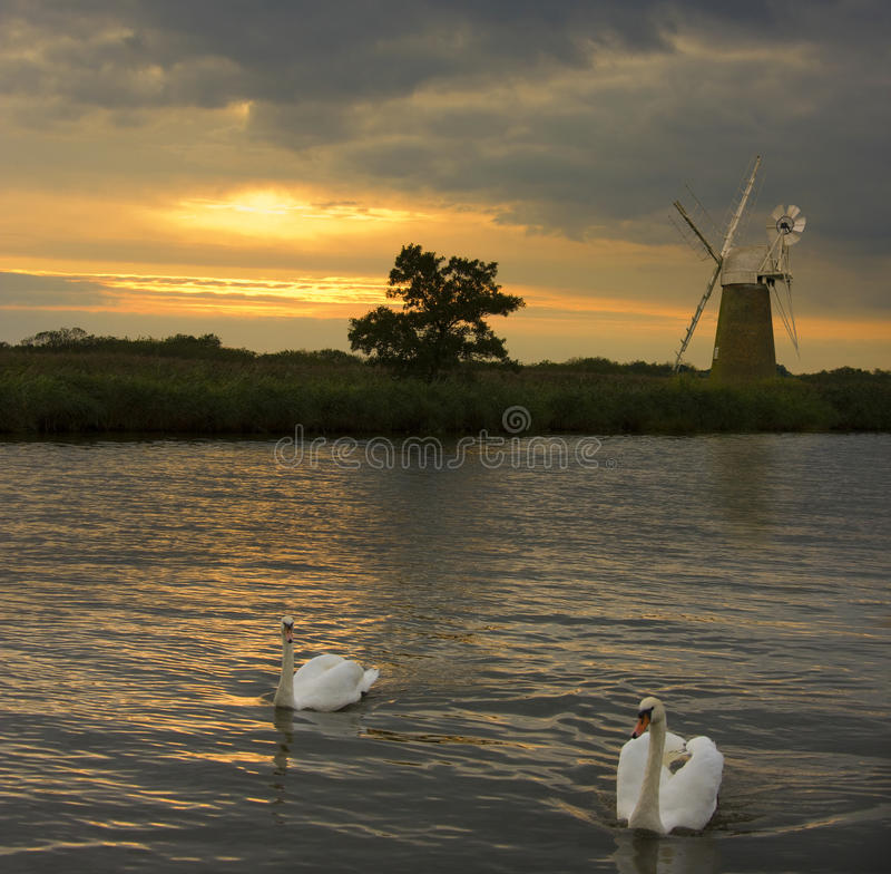 Norfolk Broads - United Kingdom Royalty Free Stock Image