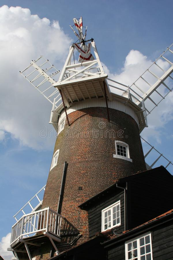 Norfolk Windmill Stock Image