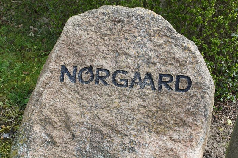 Norgaard Denmark royalty free stock photo