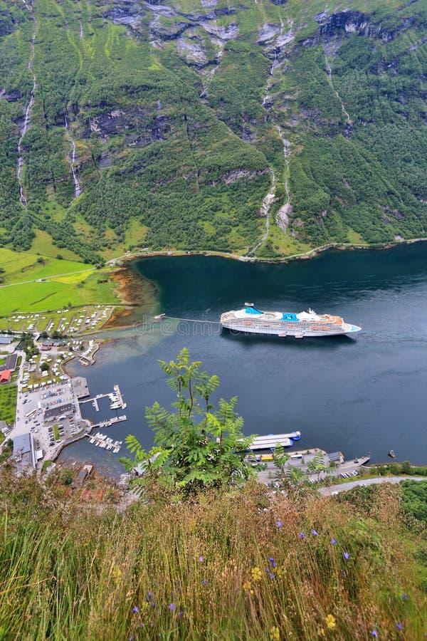 Norge - Geiranger arkivfoto
