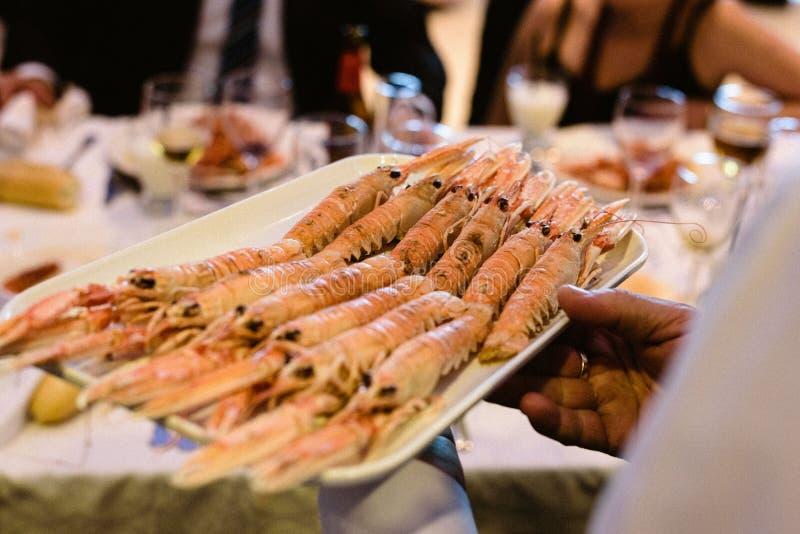 Norge hummer som är klar att äta fotografering för bildbyråer
