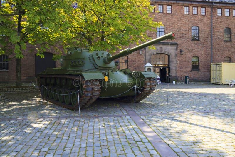 Norge militärmuseum royaltyfria foton
